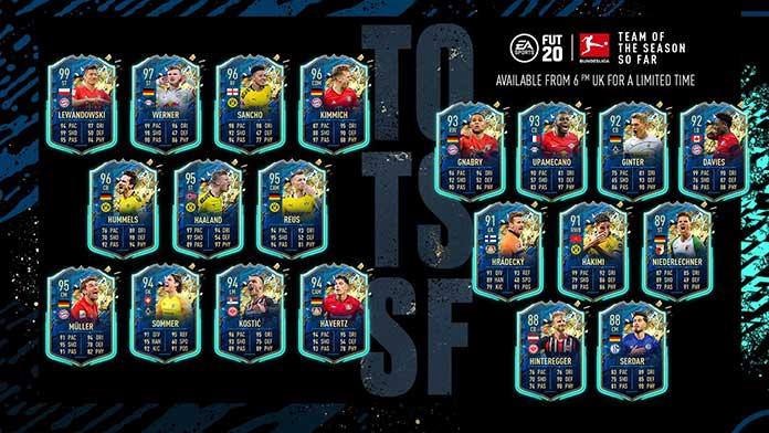 Equipa da Época da Bundesliga para FIFA 20 Ultimate Team