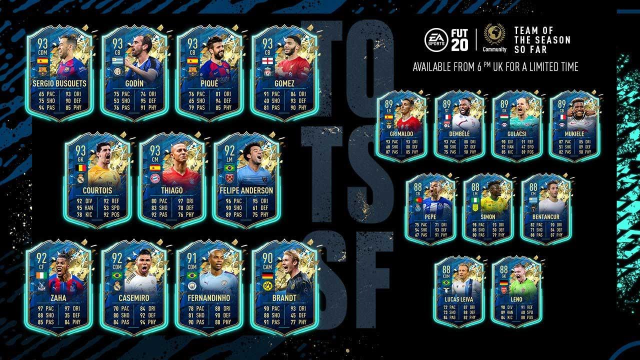 FIFA 20 Community TOTS
