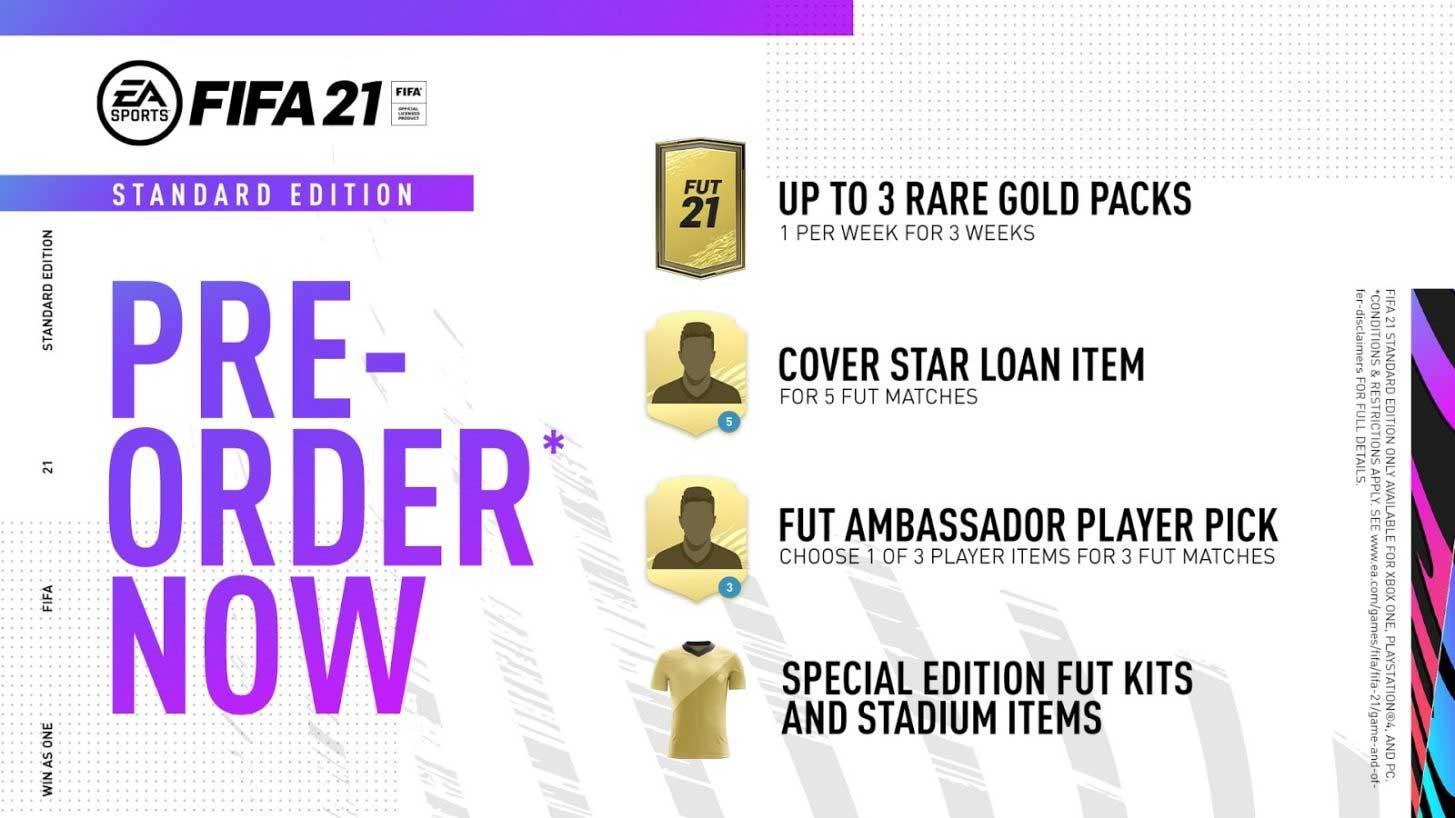 FIFA 21 on Steam - Standard Edition