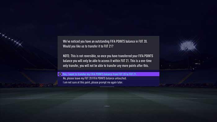FIFA 21 - FIFA Points