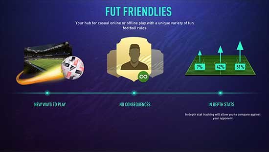 FIFA 21 FUT Friendlies