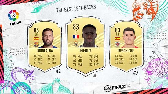 Os Melhores Defesas da LaLIga em FIFA 21