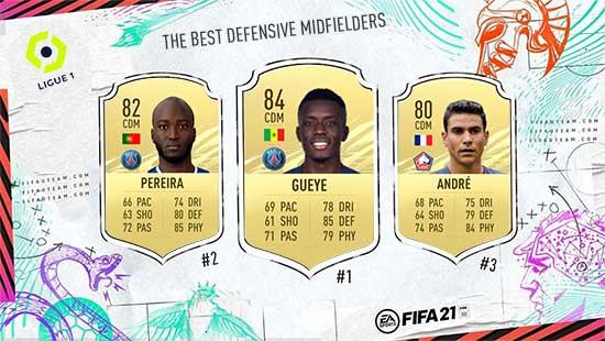 Os Melhores Médios da Ligue 1 em FIFA 21