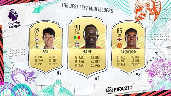 Os Melhores Médios da Premier League em FIFA 21