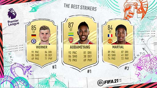 The Best FIFA 21 Premier League Forwards and Strikers