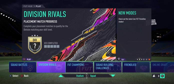 FUT Division Rivals em FIFA 21 Ultimate Team