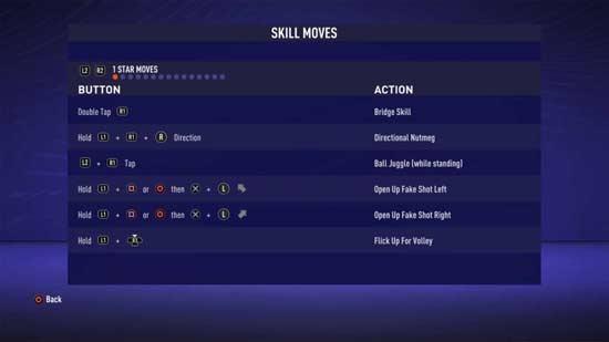 Fintas para FIFA 21