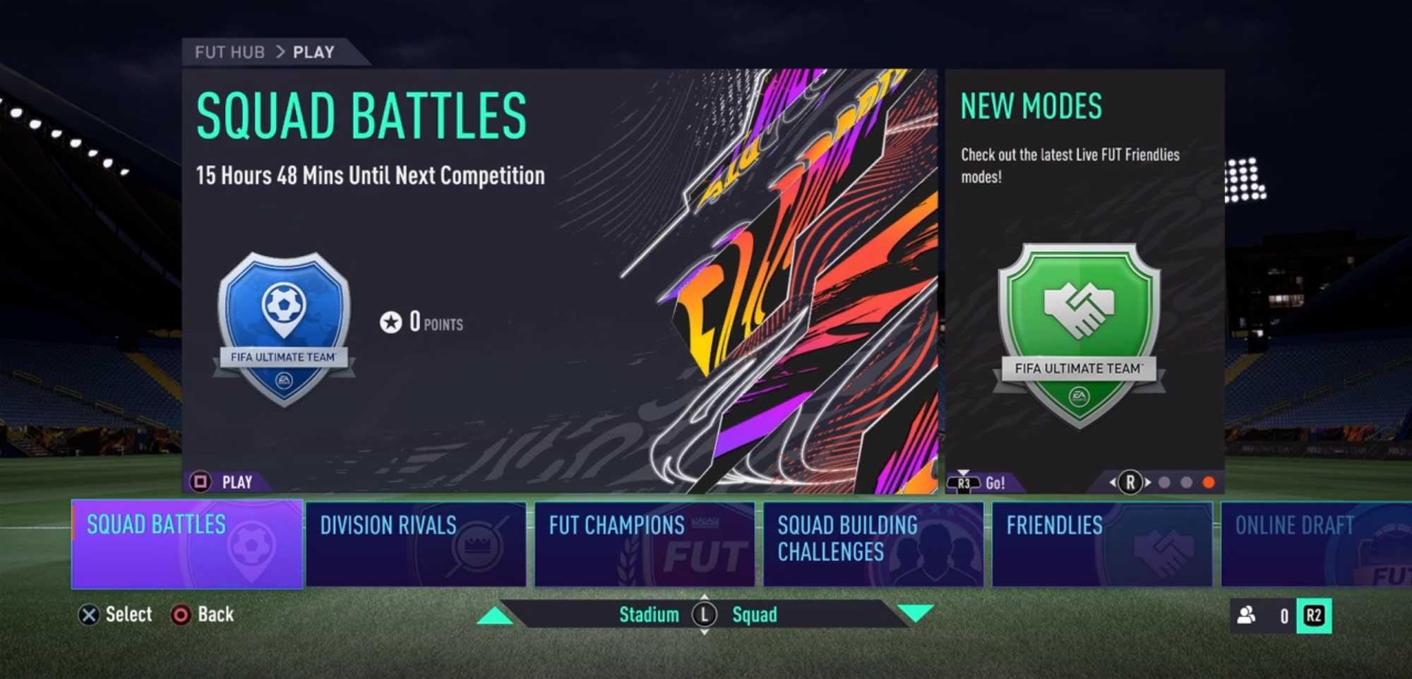 A Pontuação do Squad Battles em FIFA 21 Ultimate Team