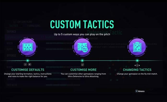 FUT 21 Custom Tactics