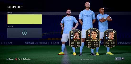 FIFA 22 FUT Co-Op