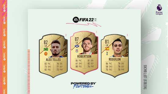 Os Melhores Laterais Esquerdos da Premier League em FIFA 22