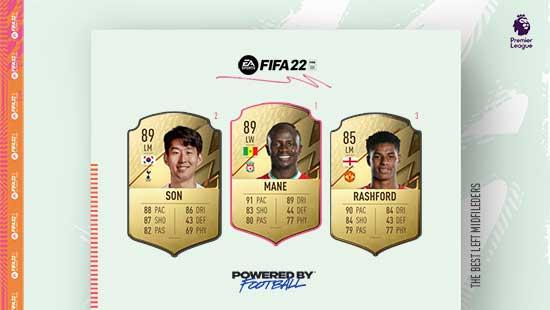 Os Melhores Médios da Premier League em FIFA 22