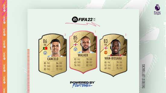 Os Melhores Laterais Direitos da Premier League em FIFA 22