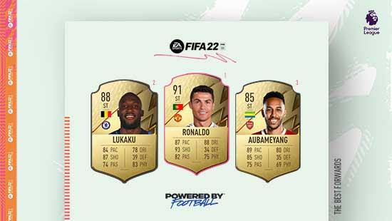 Os Melhores Avançados da Premier League em FIFA 22