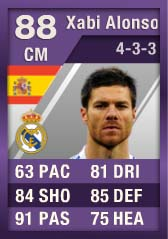 FIFA Ultimate Team Purple Cards: The First - Xabi Alonso