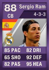 FIFA Ultimate Team Purple Cards: The First - Sergio Ramos