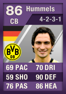 FIFA Ultimate Team Purple Cards: The First - Hummels