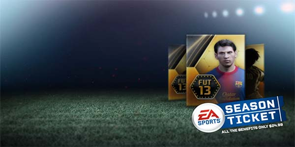 FUT 13 Season Ticket