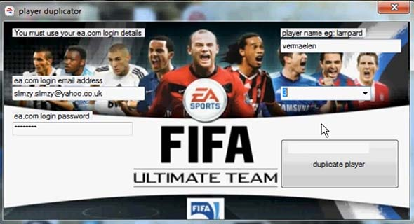 FIFA 13 Ultimate Team Cheaters