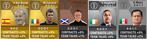 FIFA 13 Ultimate Team Staff - Managers