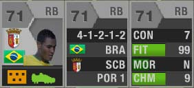 FUT 13 Web App - Card Information
