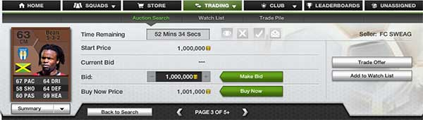 FUT 13 Coins - Charging Interest