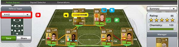 FUT 13 Chemistry Guide - Formations and Positions