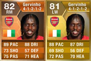 FIFA 13 Ultimate Team - Gervinho Orange Card