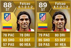 FIFA 13 Ultimate Team Upgraded Players - Falcão UP
