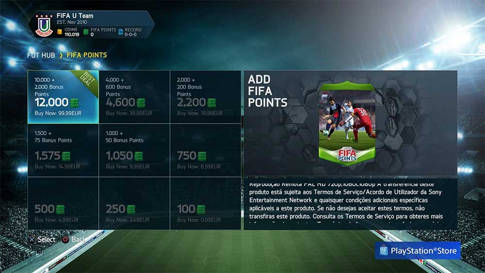 how to buy fifa points