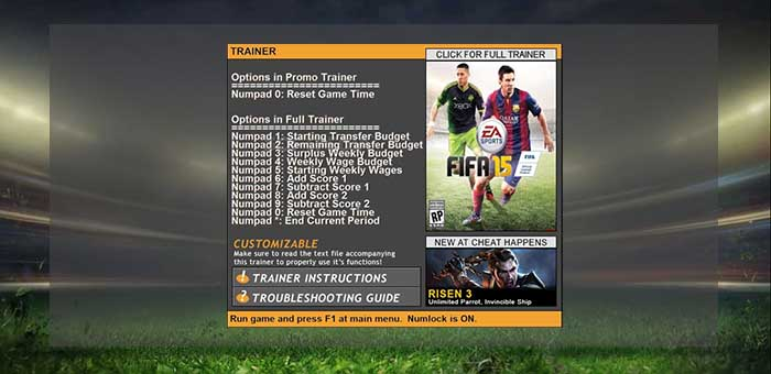 Fifa 15 Cheats Guide