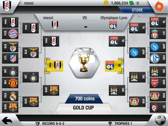 FIFA 13 Ultimate Team iOS - Screenshot 3