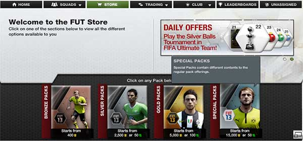 FUT 13 Special Offers