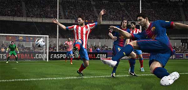 Screenshots de FIFA 14