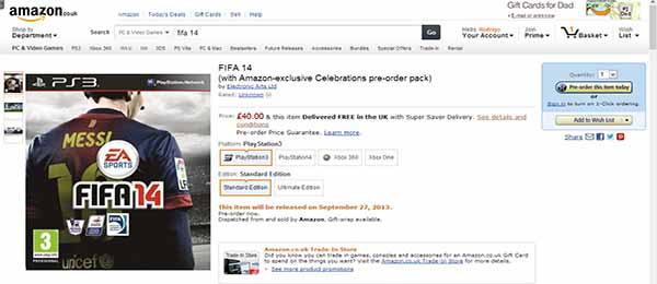 FIFA 14 Buying Guide - Prices, Stores & More