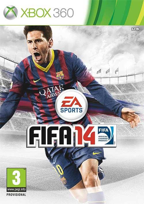 Capa de FIFA 14 - Versão Internacional - XBox 360