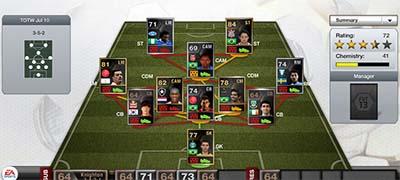 FIFA 13 Ultimate Team - Team of the Week 43 (TOTW 43)