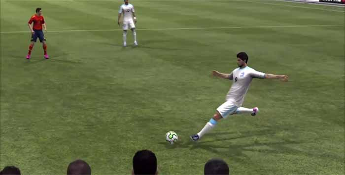 FIFA 13 Remake - Luis Suarez Free Kick