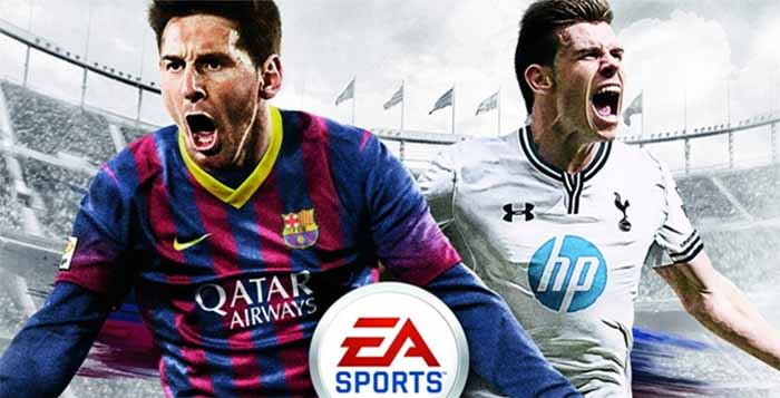 Who Is in the FIFA 14 UK Cover ?