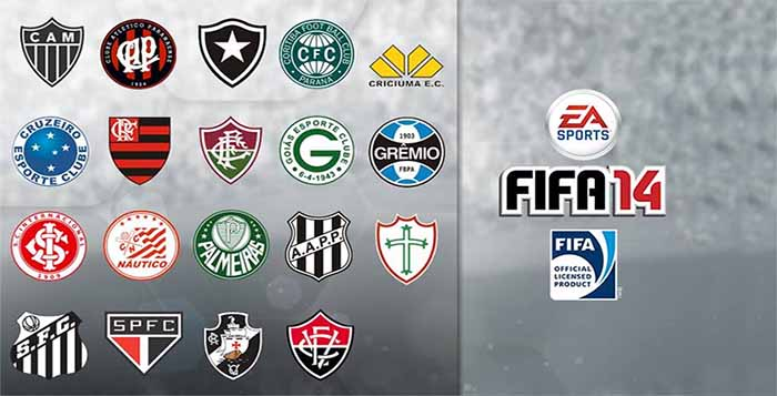 Which Brazilian Teams Will Be in FIFA 14 ?