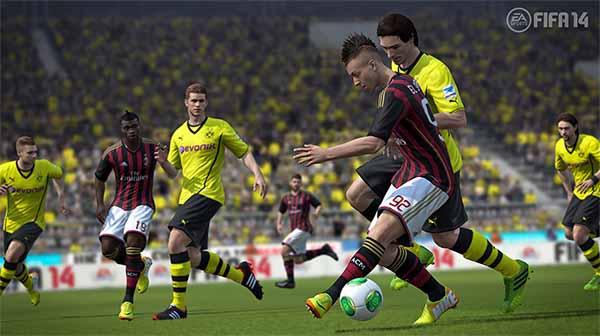 Mais Novas Imagens de FIFA 14
