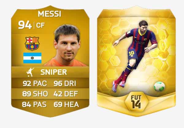 First FIFA 14 Ultimate Team Screenshots