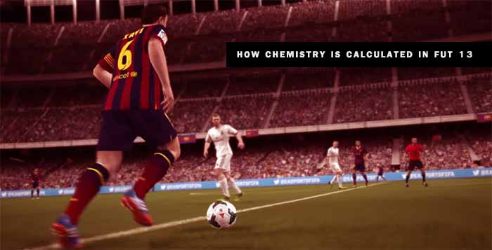 How is Calculated the Chemistry in FIFA 13 Ultimate Team