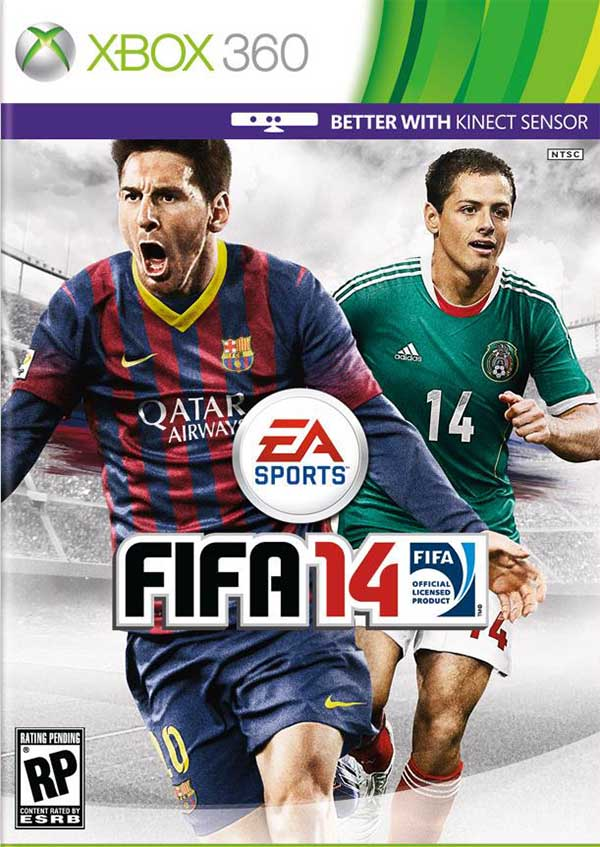 Cover de FIFA 14 para a América do Norte