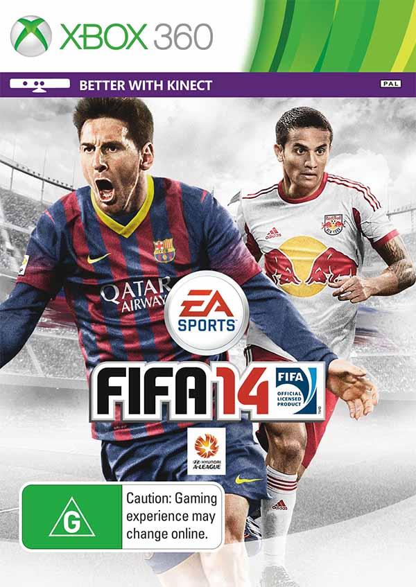 Cover Australiana de FIFA 14