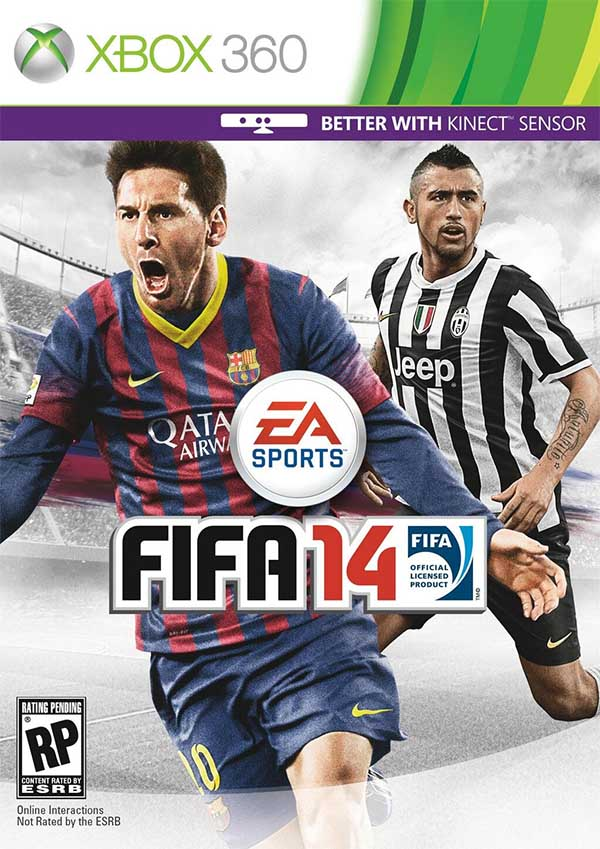Cover de FIFA 14 para a América do Sul e Central