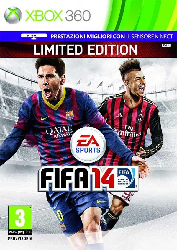 Cover Italiana de FIFA 14