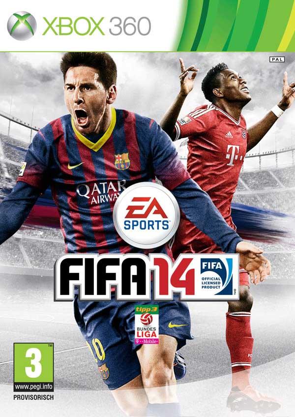 Cover Autríaca de FIFA 14Austrian FIFA 14 Cover