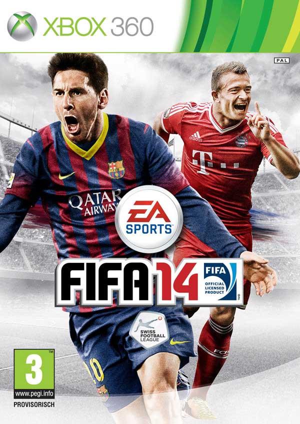 Cover Suiça de FIFA 14