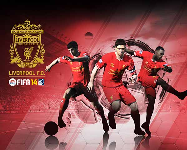 FIFA 14 Liverpool Wallpaper
